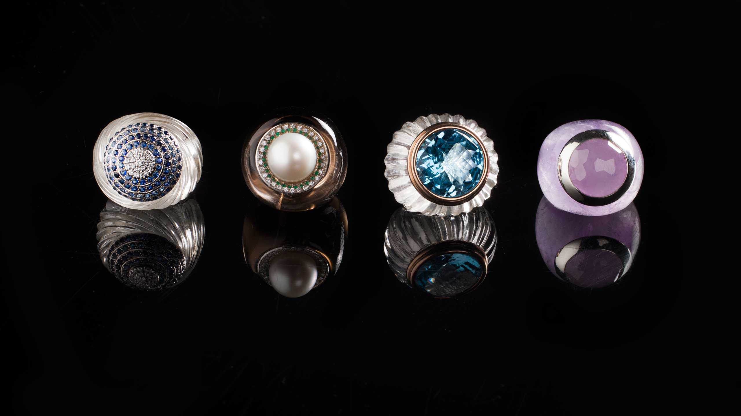 TIG Jewelry High Jewels Rings Made In Italy