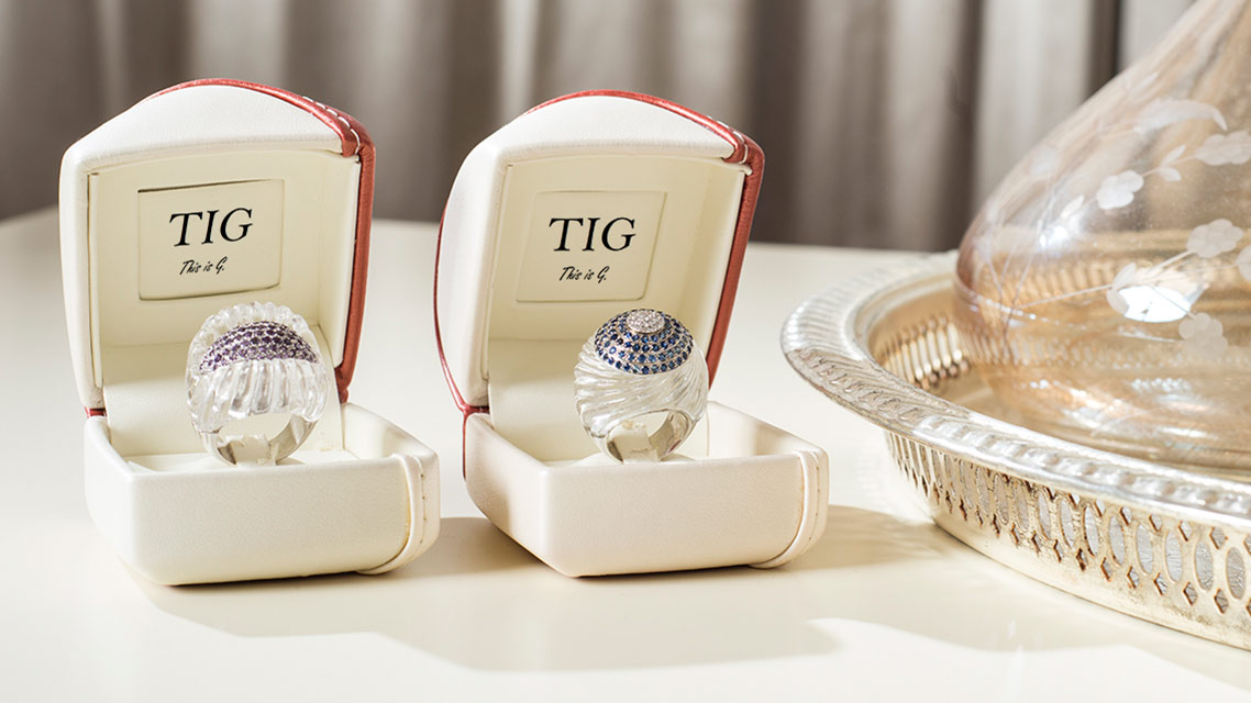 TIG Jewelry High Jewels Rings Made In Italy luxury class elite